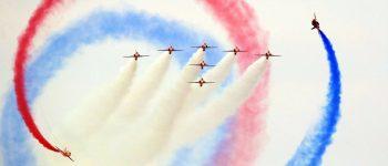 تصاویر ، نمایش هوایی ساندرلند در سواحل انگلیس